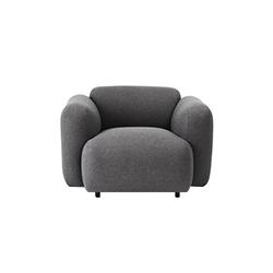 膨胀单座沙发 swell 1-seater sofa