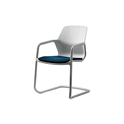 现代悬臂椅   培训家具