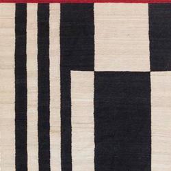 混色条纹1拼接地毯   地毯