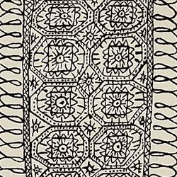 伊斯坦布尔黑白地毯   地毯