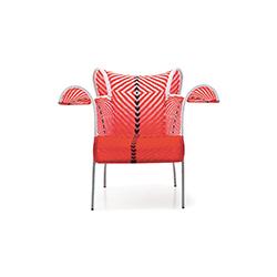 扶桑户外扶手椅 多米尼克·佩图特  户外椅