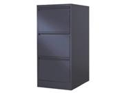 三斗文件柜   钢制文件柜