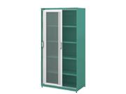 玻璃掩门柜   钢制文件柜