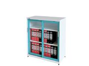 玻璃移门文件柜   钢制文件柜