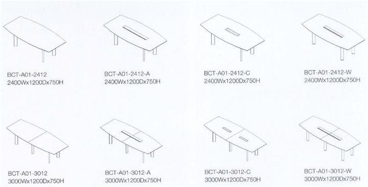 实木会议桌尺寸图