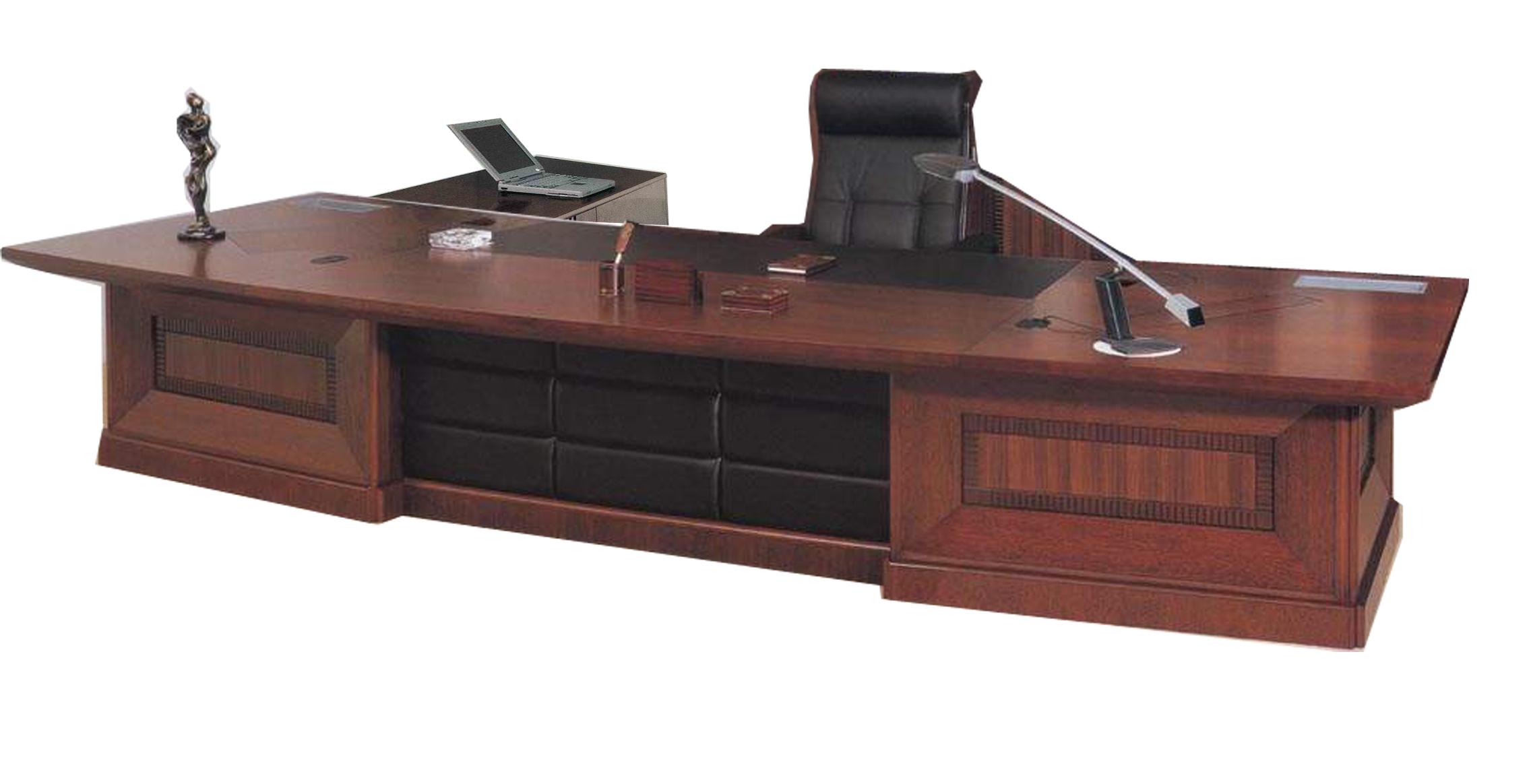 办公台 经典大班台 办公家具 经典大班台 实木大班台 实木大班桌 大
