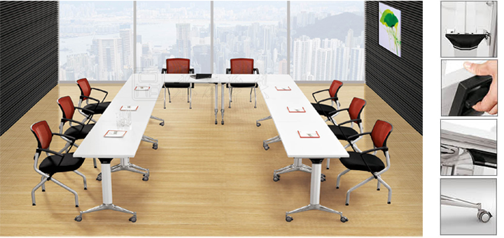 Foldable Training Table培训桌CGLSTraining DeskTraining - Foldable training table